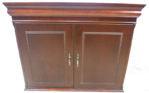 Victorian Style Mahogany Two Door Cupboard